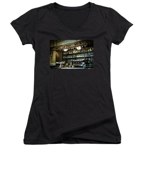 Parisian Espresso Women's V-Neck