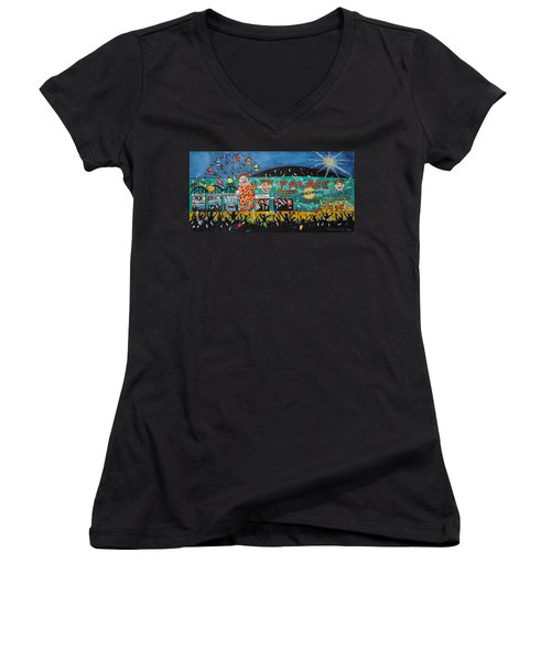 Party At The Palace Women's V-Neck T-Shirt
