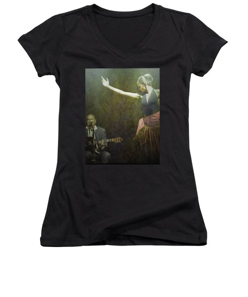 Passion Of The Dance Women's V-Neck