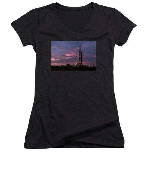 Pastel Skys Women's V-Neck T-Shirt