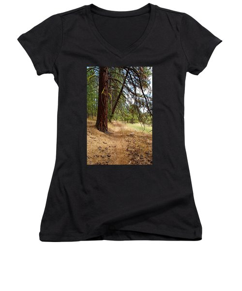 Path To Enlightenment 2 Women's V-Neck