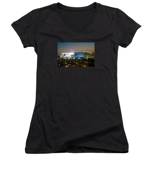 Paul Brown Stadium Women's V-Neck T-Shirt