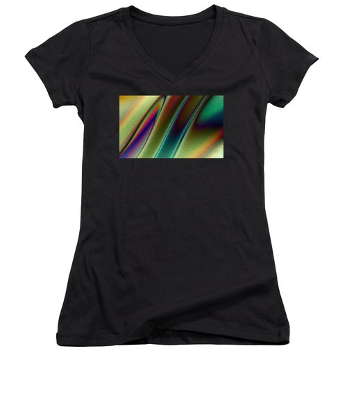 Pavo Real Women's V-Neck (Athletic Fit)