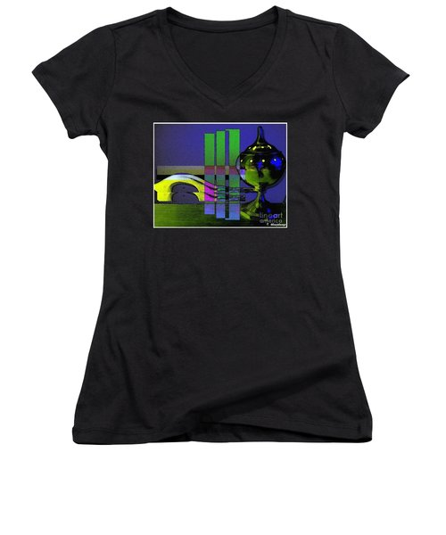 Peace Offering Women's V-Neck (Athletic Fit)