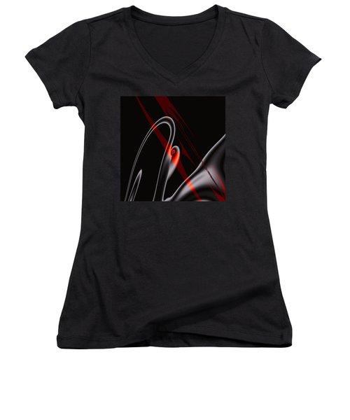 Penman Original-514 Women's V-Neck T-Shirt (Junior Cut) by Andrew Penman