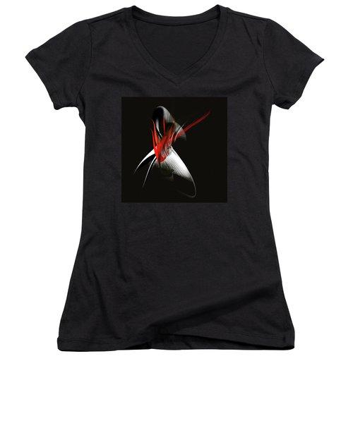 Penman Original-571 Women's V-Neck T-Shirt (Junior Cut) by Andrew Penman