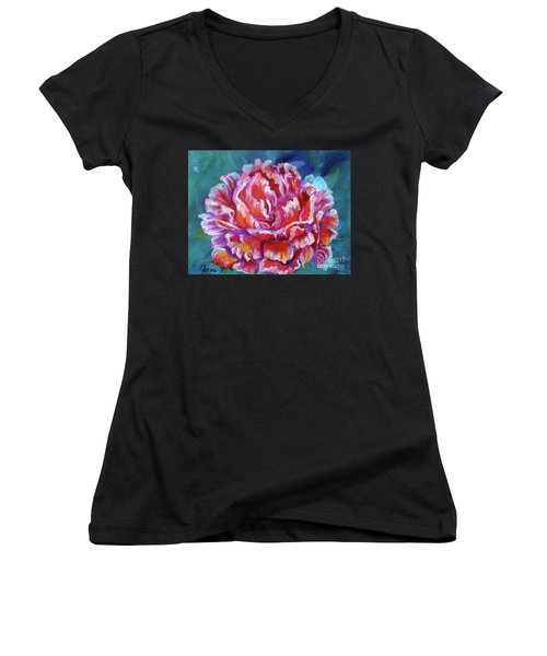 Peony No. 2 Jenny Lee Discount Women's V-Neck (Athletic Fit)