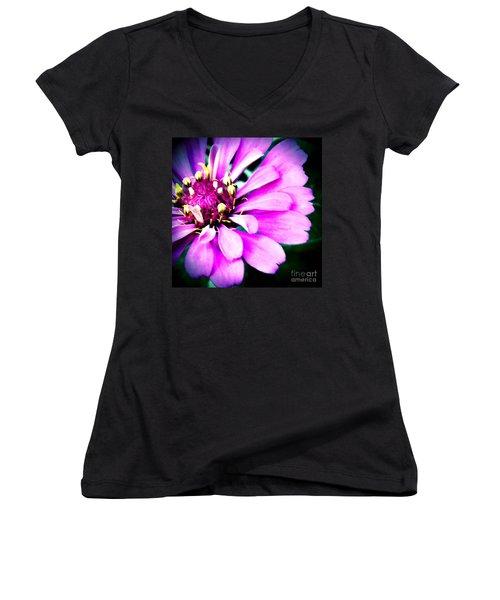 Petal Power Women's V-Neck T-Shirt