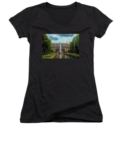 Peterhof Palace Women's V-Neck