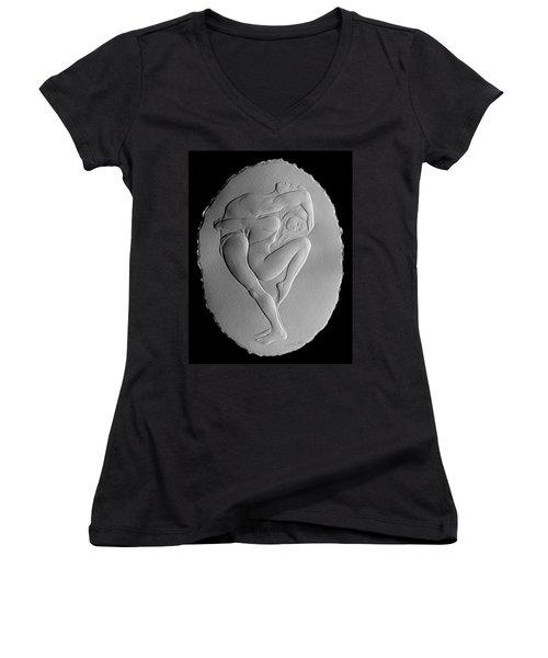Pilobilus Dancers Women's V-Neck T-Shirt