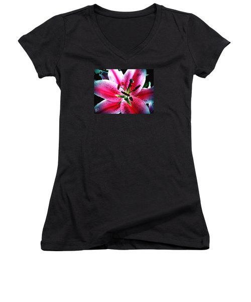 Pink Passion Women's V-Neck (Athletic Fit)
