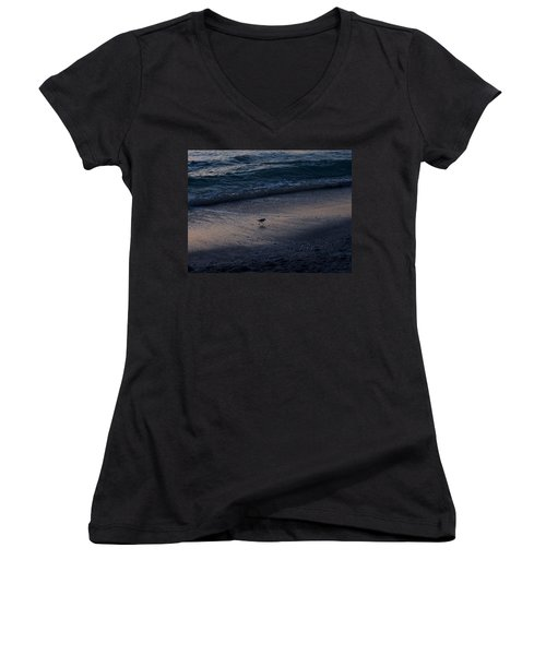 Piper At Dusk Women's V-Neck