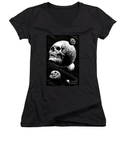 Planetary Decay Women's V-Neck