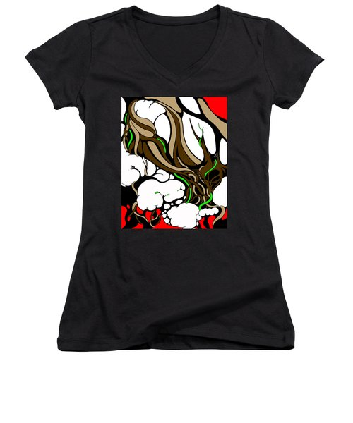Planted Women's V-Neck (Athletic Fit)