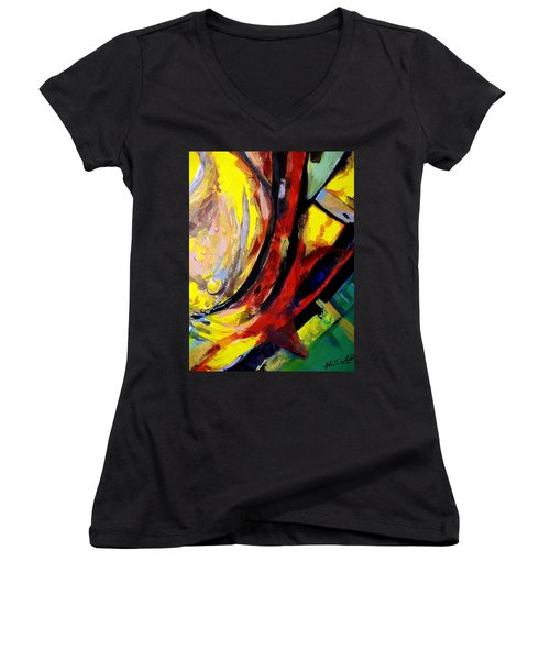 Pleasing Too Women's V-Neck T-Shirt
