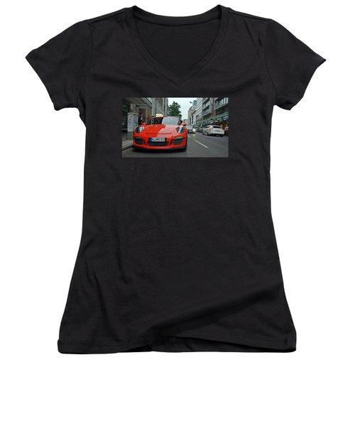 Porsche Gt3 Rs Women's V-Neck