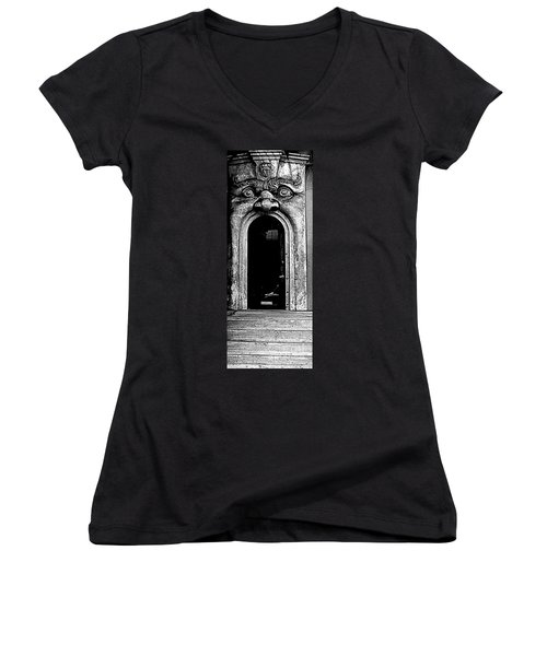 Portal Women's V-Neck T-Shirt (Junior Cut)