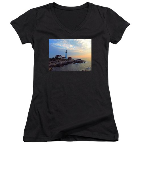 Portland Headlight Women's V-Neck