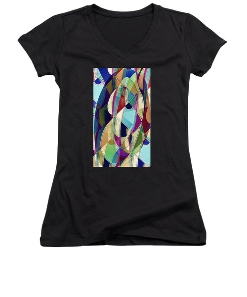Portrait Of A Friend Women's V-Neck