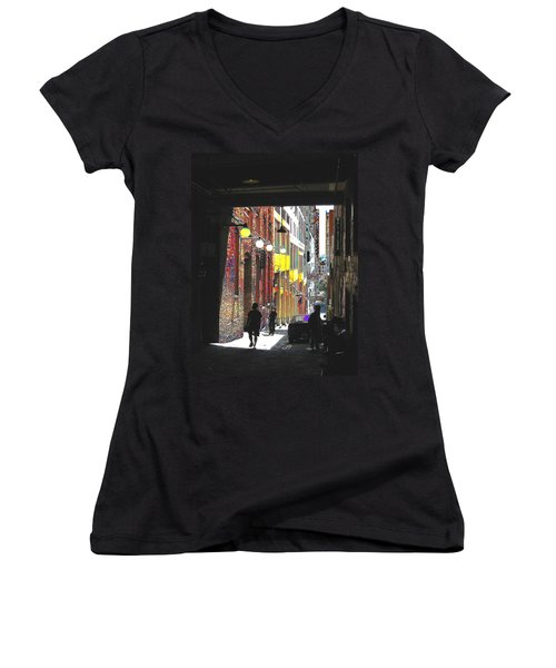 Post Alley Women's V-Neck (Athletic Fit)