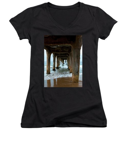 Pounded Pier Women's V-Neck
