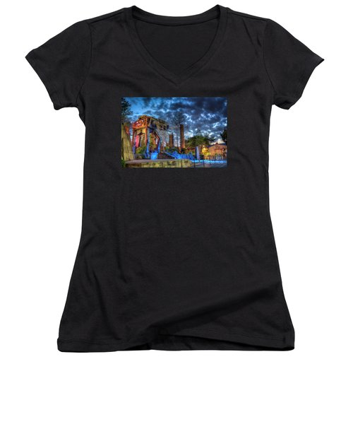Prepare For Battle Women's V-Neck T-Shirt