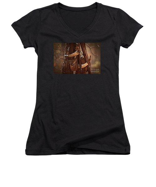 Primitive Arsenal Women's V-Neck T-Shirt