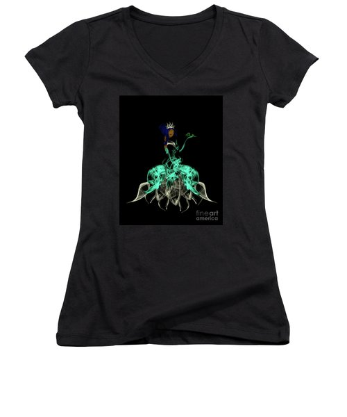 Princess And The Frog Women's V-Neck T-Shirt