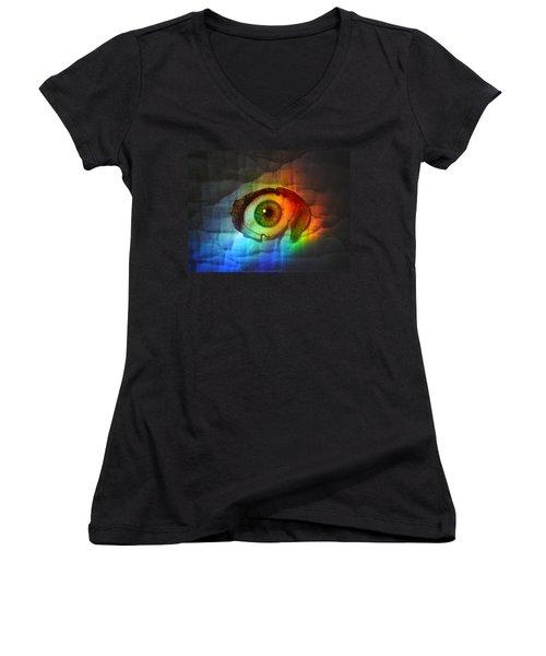Prismaeye Women's V-Neck T-Shirt