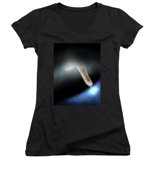 Quantum Mechanics Women's V-Neck T-Shirt