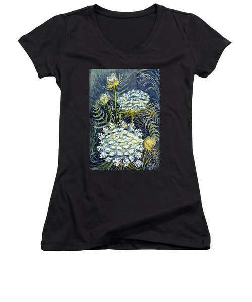 Queen Anne's Lace Women's V-Neck