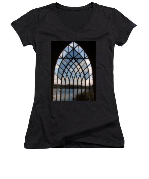 Radiant Women's V-Neck T-Shirt