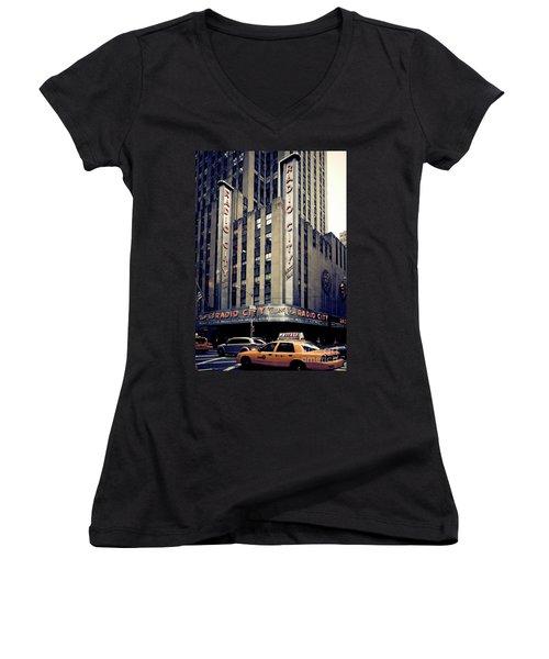 Radio City Women's V-Neck (Athletic Fit)