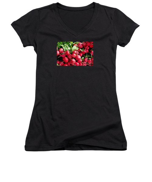 Radishes 1 Women's V-Neck T-Shirt