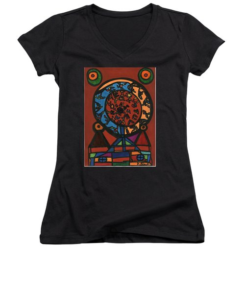 Raetsel Women's V-Neck T-Shirt
