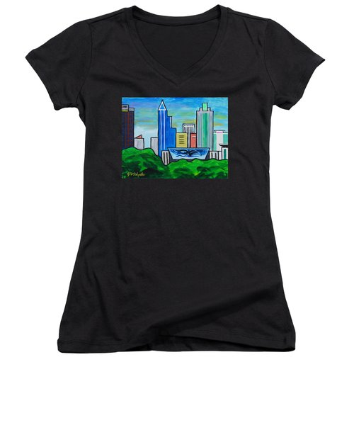 Raleigh Skyline 3 Women's V-Neck (Athletic Fit)