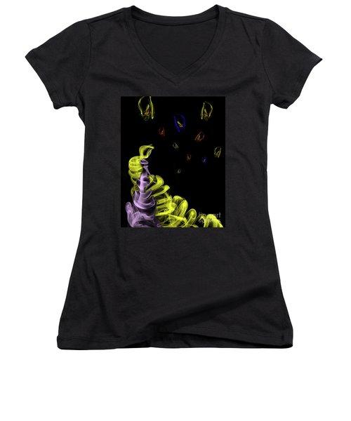Rapunzel's Magic Hair Women's V-Neck T-Shirt