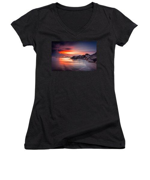 Ray Of Hope Women's V-Neck T-Shirt