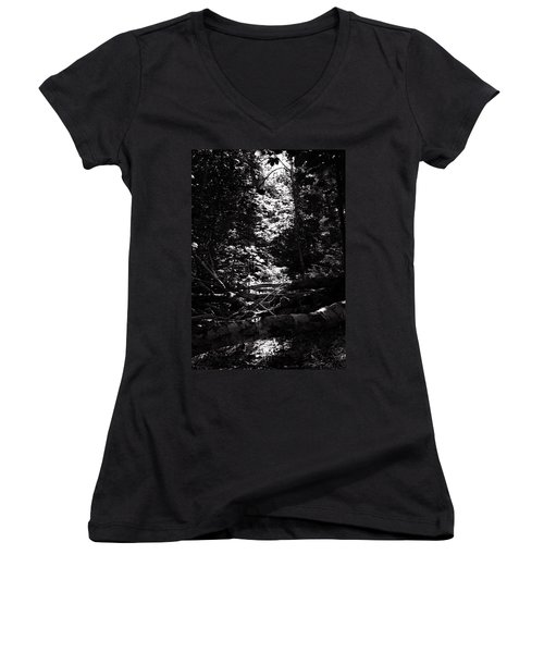 Ray Of Light Women's V-Neck T-Shirt (Junior Cut) by Keith Elliott