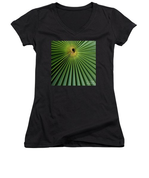 Razzled Rays Mexican Art By Kaylyn Franks Women's V-Neck (Athletic Fit)