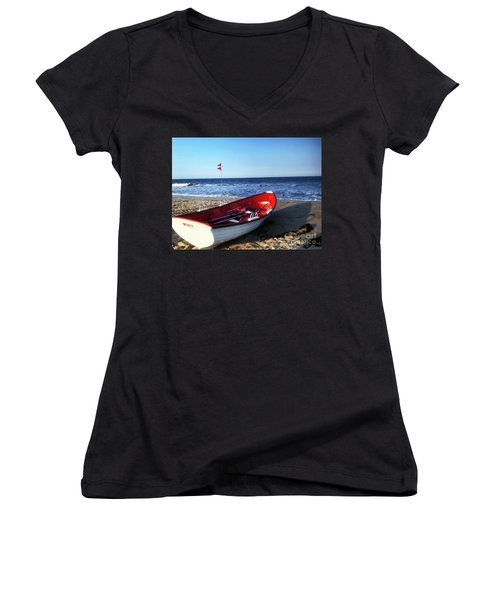 Ready To Row Women's V-Neck (Athletic Fit)