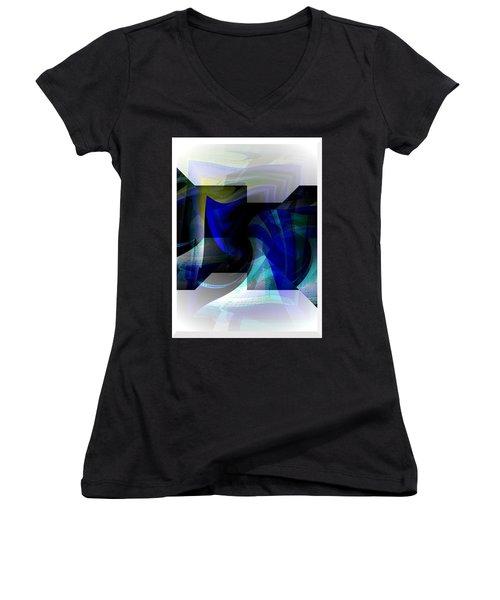 Transparency 2 Women's V-Neck T-Shirt (Junior Cut) by Thibault Toussaint