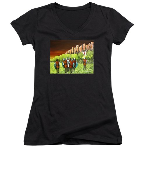 Reconnaissance Women's V-Neck T-Shirt