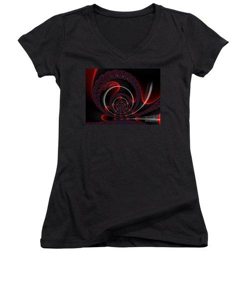 Red Cobra Women's V-Neck