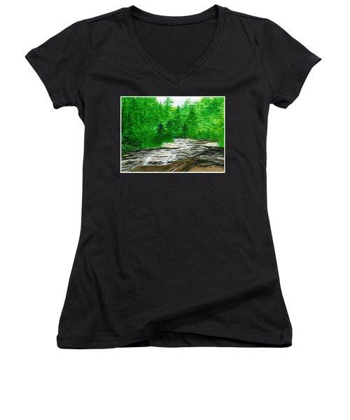 Red Creek Women's V-Neck T-Shirt