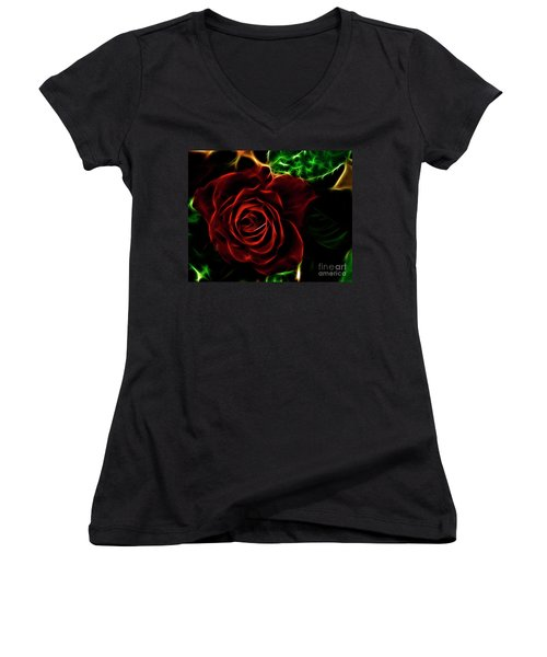 Red's Passion Women's V-Neck T-Shirt