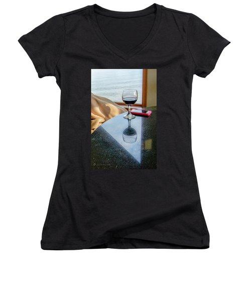 Reflections Lake Superior.... Women's V-Neck