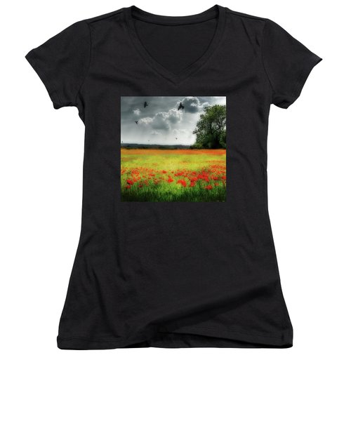 Remember #rememberanceday #remember Women's V-Neck