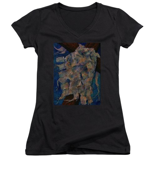 Remnant Women's V-Neck T-Shirt (Junior Cut) by Dorothy Allston Rogers