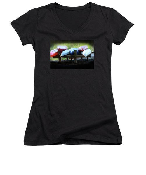 Rent Me Women's V-Neck T-Shirt